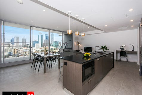 1804/105 Stirling Street, Perth, 6000, Perth City - Apartment / BRAND NEW Manhattan style apartment with views to die for! / Balcony / Swimming Pool - Inground / Garage: 2 / Secure Parking / Air Conditioning / $850,000