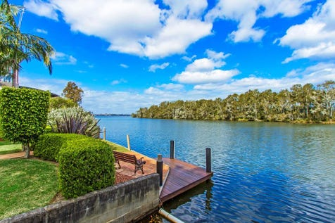294 Geoffrey Road, Chittaway Point, 2261, Central Coast - House / ABSOLUTE DEEP WATERFRONT WITH PRIVATE SLIPWAY & JETTY / Garage: 4 / Air Conditioning / P.O.A