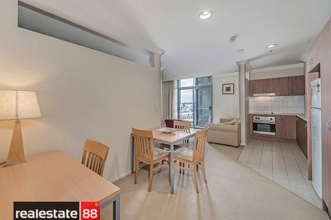 911/305 Murray Street, Perth, 6000, Perth City - Apartment / Flying high, looking good & living the inner city dream! / Balcony / Air Conditioning / $295,000