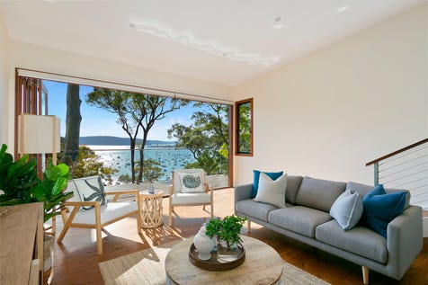 133 Cabarita Road, Avalon Beach, 2107, Northern Beaches - House / Stylish family entertainer, north-facing Pittwater sanctuary / Garage: 1 / Open Spaces: 1 / P.O.A