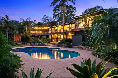 30 Minkara Road, Bayview, 2104, Northern Beaches - House / Space, luxury and privacy on over an acre - To be sold on or before 28 March / Tennis Court / Garage: 4 / Secure Parking / Alarm System / Built-in Wardrobes / Open Fireplace / Study / Ensuite: 1 / $3,100,000
