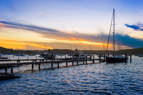 35 Riverview Road, Avalon Beach, 2107, Northern Beaches - House / World-Class Pittwater Address, Deep Waterfront Setting / Open Spaces: 4 / Toilets: 1 / P.O.A