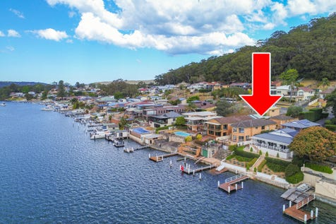422 Orange Grove Road, Woy Woy, 2256, Central Coast - House / Sublime Deep Waterfront With Boat Shed, Slipway and Jetty / Balcony / Garage: 2 / Secure Parking / Alarm System / P.O.A