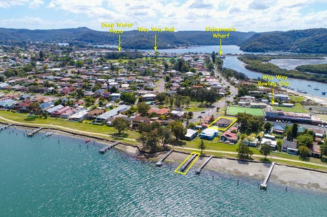 32 North Burge Road, Woy Woy, 2256, Central Coast - House / Great Renovation potential with Deep Water Jetty / Garage: 2 / Secure Parking / Air Conditioning / P.O.A