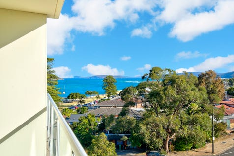 423/51 The Esplanade, Ettalong Beach, 2257, Central Coast - Apartment / Sunset and ocean views from the balcony / Balcony / Air Conditioning / Built-in Wardrobes / $295,000