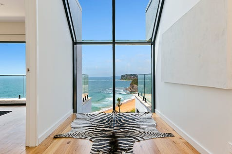 19 The Serpentine, Bilgola Beach, 2107, Northern Beaches - House / Watch the whales and dolphins play in the waves from this incredible designer property / Garage: 2 / Toilets: 1 / P.O.A