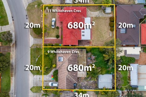 9 & 11 Whitehaven Crescent, Balga, 6061, North East Perth - House / REDUCED TO SELL! / Garage: 1 / Open Spaces: 2 / Air Conditioning / $385,000