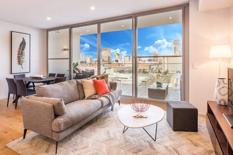 908/105 Stirling Street, Perth, 6000, Perth City - Apartment / AT THE HEART OF CITY LIFE / Balcony / Fully Fenced / Outdoor Entertaining Area / Swimming Pool - Inground / Garage: 2 / Remote Garage / Secure Parking / Air Conditioning / Built-in Wardrobes / Dishwasher / Gym / Intercom / Pay TV Access / $670,000
