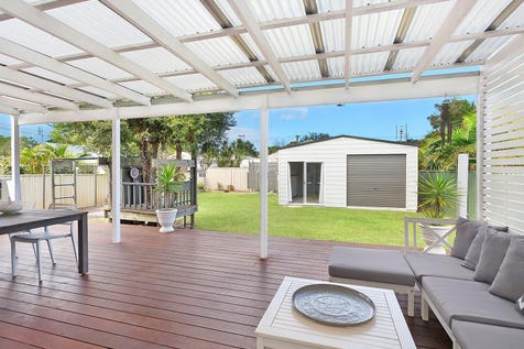 55 Dunban Road, Woy Woy, 2256, Central Coast - House / Charming and stylish renovated family home on level block / Carport: 1 / $700,000