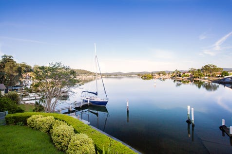 6 Daley Avenue, Daleys Point, 2257, Central Coast - House / Deep waterfront home with slipway, jetty & boat shed / Balcony / Courtyard / Deck / Carport: 2 / Garage: 2 / Air Conditioning / Built-in Wardrobes / Dishwasher / Ducted Cooling / Ducted Heating / P.O.A