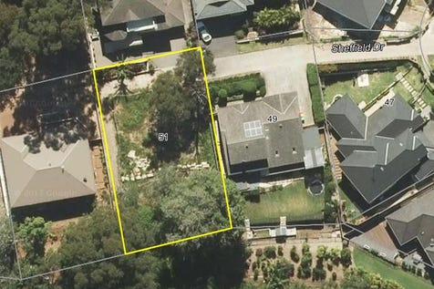 51 Sheffield Drive, Terrigal, 2260, Central Coast - House / Vacant Approx 803m2 North Facing Block / Garage: 1 / $539,000
