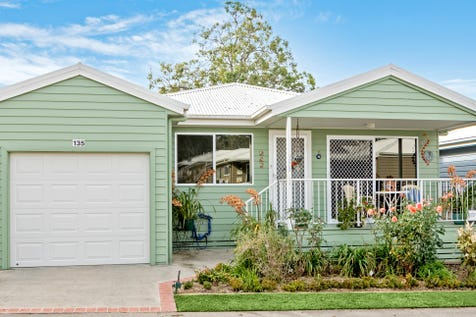 2 Saliena Avenue, Lake Munmorah, 2259, Central Coast - Retirement Living / IMMACULATE 3 BEDROOM HOME ON PERIMETER OF OVER 50's RESORT / Deck / Fully Fenced / Swimming Pool - Above Ground / Swimming Pool - Inground / Tennis Court / Garage: 2 / Remote Garage / Secure Parking / Air Conditioning / Broadband Internet Available / Gym / $410,000