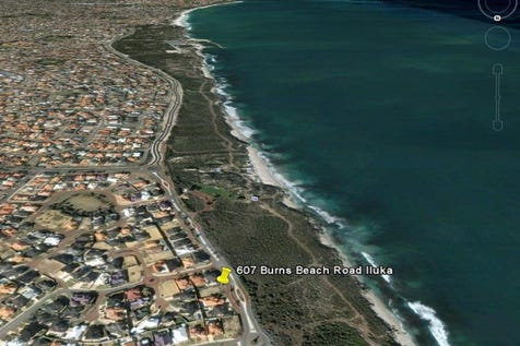 607 Burns Beach Road, Iluka, 6028, North West Perth - Residential Land / You could build your dream home here! Sunset forever! / $1,280,000