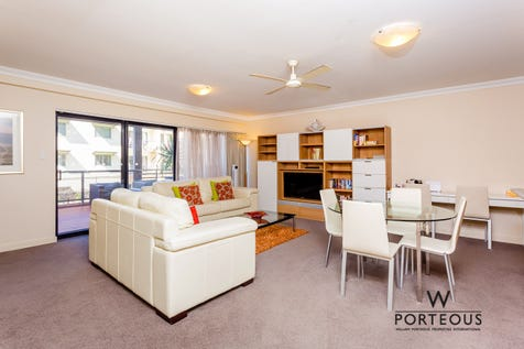 101/112 Mounts Bay Road, Perth, 6000, Perth City - Apartment / SWIM, DINE, SHOP / Balcony / Swimming Pool - Inground / Carport: 2 / Secure Parking / Air Conditioning / Toilets: 1 / $400