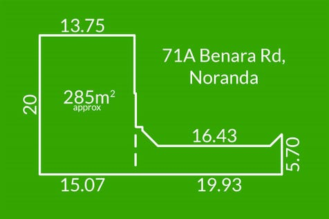 71A Benara Road, Noranda, 6062, North East Perth - Residential Land / Build Your Dream Home!! / $239,000