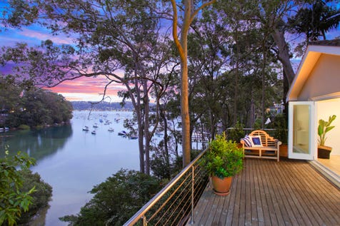 260 Hudson Parade, Avalon Beach, 2107, Northern Beaches - House / Waterfront Position With Intimate Bay and Pittwater Views / Deck / Garage: 2 / Air Conditioning / Ducted Cooling / Ducted Heating / Open Fireplace / $2,400,000