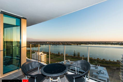 136/181 Adelaide Terrace, East Perth, 6004, Perth City - Apartment / GET IN QUICK for this luxurious waterfront apartment up high on the 19th Floor! / Balcony / Carport: 2 / Secure Parking / Air Conditioning / $725,000