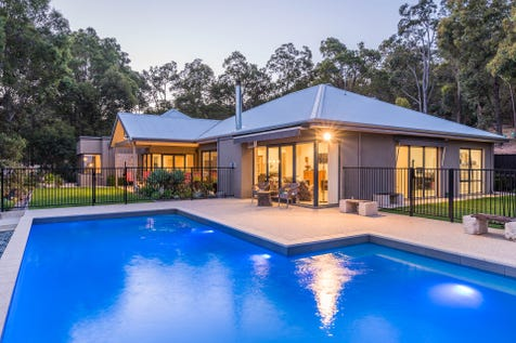 69-71 Dalry Road, Darlington, 6070, North East Perth - House / Ultimate Hills Lifestyle on Acreage / Swimming Pool - Inground / Garage: 2 / Secure Parking / Air Conditioning / Alarm System / Toilets: 2 / P.O.A