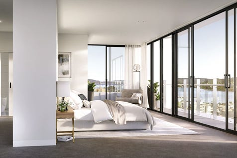 B/155-163 Mann Street, Gosford, 2250, Central Coast - Apartment / Striking Two Bedroom Apartments with Water Views / Balcony / Garage: 1 / Secure Parking / Built-in Wardrobes / Dishwasher / Ducted Cooling / Ducted Heating / Floorboards / Ensuite: 1 / Toilets: 2 / $572,000