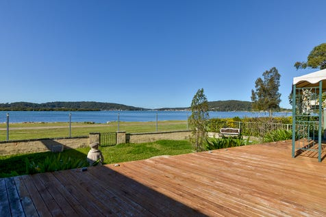 176 North Burge Road, Woy Woy, 2256, Central Coast - House / Wonderful Waterfront Lifestyle / Garage: 4 / Secure Parking / Air Conditioning / Floorboards / $1,450,000