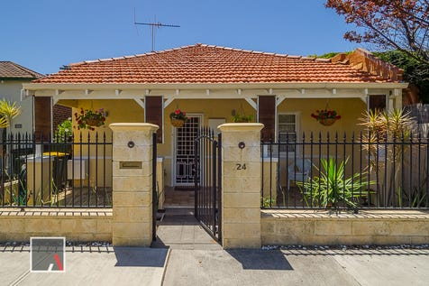 24 Ruth Street, Perth, 6000, Perth City - House / Simplicity and style on the CBD fringe.    AUCTION on site Saturday 2nd December at 1pm (if not sold prior) / P.O.A