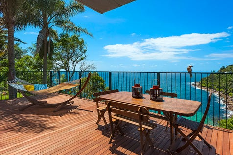 185 Whale Beach Road, Whale Beach, 2107, Northern Beaches - House / Relaxed Beachhouse on 950sqm of Oceanfront Land / Garage: 4 / Dishwasher / Study / P.O.A
