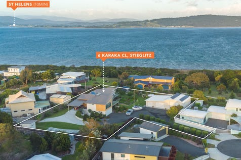 6 Karaka Close, Stieglitz, 7216, East Coast - House / Large family home with stunning views, HUGE garage and workshop with option for a seperate self contained unit (STCA) / Garage: 6 / $695,000