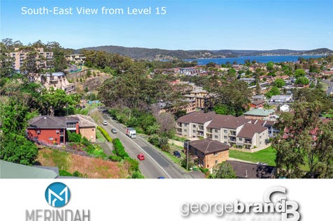 1506/21-23 Mann Street, Gosford, 2250, Central Coast - Apartment / OFF-PLAN TOP FLOOR WATER VIEW APARTMENT / Garage: 1 / Air Conditioning / Built-in Wardrobes / Ensuite: 1 / $730,000