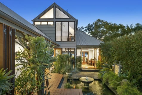 10 Delecta Avenue, Clareville, 2107, Northern Beaches - House / Architecturally designed haven in a prized beachfront position / Balcony / Garage: 2 / Open Spaces: 5 / Secure Parking / Floorboards / Toilets: 3 / P.O.A