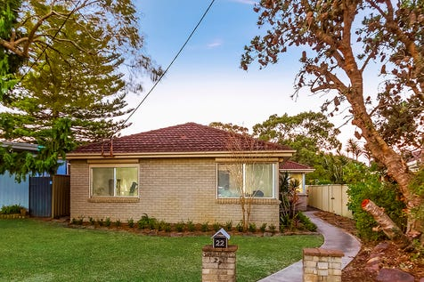 22 Wentworth Avenue, Woy Woy, 2256, Central Coast - House / RENOVATED 4 BEDROOM BRICK HOUSE & SLEEP OUT / Garage: 1 / $750,000