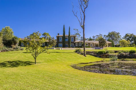 108 Booralie Road, Duffys Forest, 2084, Northern Beaches - Acreage/semi-rural / IMPECCABLE EQUESTRIAN ESTATE / Balcony / Courtyard / Deck / Fully Fenced / Outdoor Entertaining Area / Outside Spa / Shed / Swimming Pool - Inground / Tennis Court / Carport: 1 / Garage: 2 / Open Spaces: 4 / Remote Garage / Built-in Wardrobes / Dishwasher / P.O.A