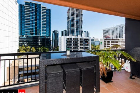 808/251 Hay Street, East Perth, 6004, Perth City - Apartment / Flying high on Level 8 with loads of space & potential PLUS Swan River glimpses! / Swimming Pool - Inground / Garage: 1 / Air Conditioning / $399,000