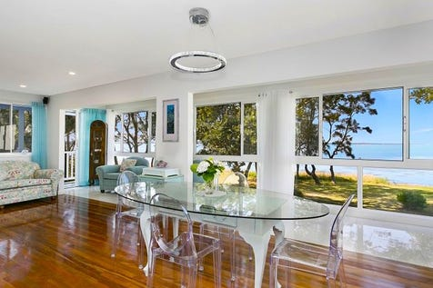 14 Lett Street, Gorokan, 2263, Central Coast - House / EXQUISITELY BEAUTIFUL LAKEFRONT JEWEL WITH STUDIO - Open Home Saturday 2pm / Balcony / Garage: 1 / Air Conditioning / Ensuite: 1 / $830,000