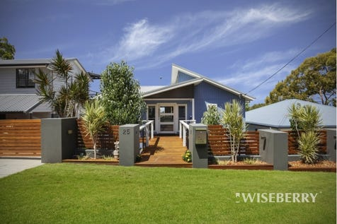 25 Donegal  Road, Berkeley Vale, 2261, Central Coast - House / Contemporary Coastal Abode With Lake Views / Garage: 2 / P.O.A