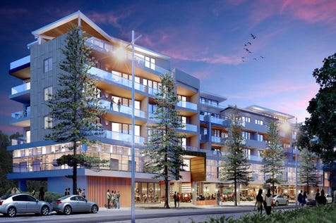 6 Pinetree Lane, Terrigal, 2260, Central Coast - Apartment / YOUR ENDLESS SUMMER STARTS HERE. Fantastic new apartments under construction in Terrigal / Balcony / Garage: 1 / Secure Parking / Air Conditioning / Broadband Internet Available / Built-in Wardrobes / Dishwasher / Intercom / Pay TV Access / Toilets: 1 / $470,000