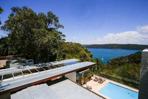 42 Bynya Road, Palm Beach, 2108, Northern Beaches - House / Pittwater Views, Pool, Stunning Architectural Home Originally Designed by Peter Muller / Garage: 2 / Ensuite: 1 / P.O.A