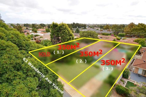 Lots 2&3 No.63 Wandarrie Ave, Yokine, 6060, North East Perth - House / HOME AND LAND PACKAGE FROM $755,000 / Toilets: 1 / $399,000
