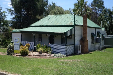 10 FITZROY, Gulgong, 2852, Central Tablelands - House / ITS A HUGE 1750 M2 BLOCK WITH 4 –5 BEDROOMS / Fully Fenced / Outdoor Entertaining Area / Shed / Carport: 4 / Garage: 1 / Secure Parking / Air Conditioning / Floorboards / Toilets: 1 / $170,000