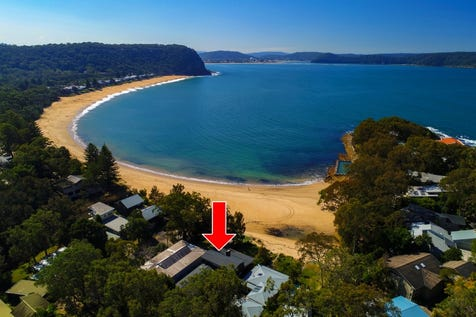 5 Gem Road, Pearl Beach, 2256, Central Coast - House / Stunning Absolute Beachfront!! / Balcony / Garage: 2 / Secure Parking / Air Conditioning / Alarm System / Floorboards / P.O.A