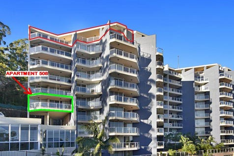 level 5/97-99 john whiteway drive, Gosford, 2250, Central Coast - Apartment / superbly location with city & water views / Garage: 4 / Ensuite: 1 / Toilets: 2 / $650,000