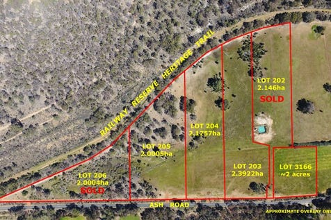 Pt 1580 Ash Road, Chidlow, 6556, North East Perth - Residential Land / ASHWOOD PARK : 2 & 5 ACRE BLOCKS / $339,000