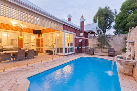 71 Kimberley Street, West Leederville, 6007, Perth City - House / Simply STUNNING! / Swimming Pool - Inground / Garage: 2 / Secure Parking / Air Conditioning / Alarm System / Floorboards / $1
