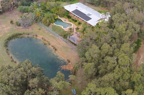 694  Reen Road, Gidgegannup, 6083, North East Perth - Lifestyle / Sweeping views in an idyllic location, with water the feature / Outdoor Entertaining Area / Shed / Swimming Pool - Inground / Air Conditioning / $980,000