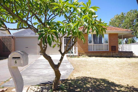 6 Pointer Way, Girrawheen, 6064, North East Perth - House / West Girrawheen Location 693m2 Zoned R60! / Carport: 2 / Secure Parking / $339,000