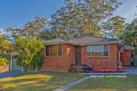 45 Yeo St, Narara, 2250, Central Coast - House / HUGE POTENTIAL- HOUSE+GRANNY / Deck / Fully Fenced / Outdoor Entertaining Area / Shed / Garage: 2 / Secure Parking / Air Conditioning / Built-in Wardrobes / $720,000