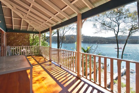 55 Robertson Rd, Scotland Island, 2105, Northern Beaches - House / North Facing Style and Space  / Balcony / Floorboards / Open Fireplace / $1,700,000