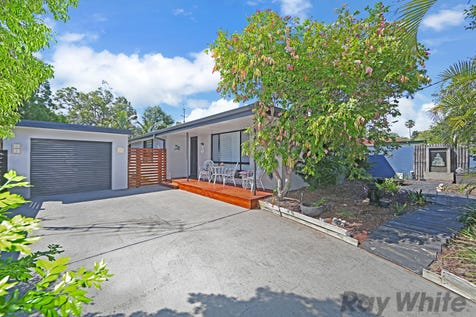 12 Marina Street, Budgewoi, 2262, Central Coast - House / Stylishly Transformed - Lakeside Position / Garage: 1 / Secure Parking / Air Conditioning / Floorboards / Toilets: 1 / P.O.A