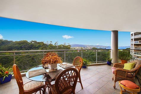 253/80 John Whiteway Drive, Gosford, 2250, Central Coast - Unit / Secure living, conveniently located with water views / Balcony / Swimming Pool - Inground / Garage: 2 / Secure Parking / Air Conditioning / Toilets: 2 / $500,000