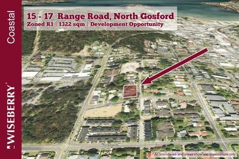 15 - 17 Range Road, North Gosford, 2250, Central Coast - House / DEVELOPMENT OPPORTUNITY AWAITS / Garage: 2 / $1,550,000