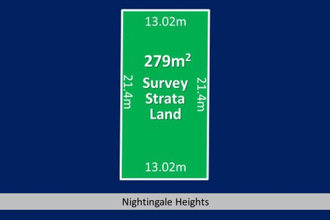 6 (Lot 2) Nightingale Heights, Ballajura, 6066, North East Perth - Residential Land / 279m2 of STREET FRONT LAND - Cleared, Level & Ready to Go! / $205,000